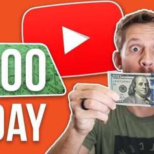Make $100/Day on YouTube - Step By Step Plan for 2021