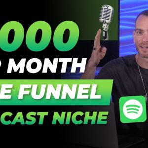 Make Money in the Podcast Niche WITHOUT a Podcast | FREE FUNNEL