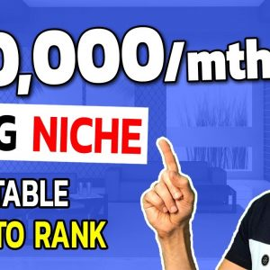 Most Profitable Blog Niches: Steal this $10,000/MONTH NICHE