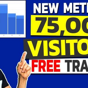 NEW: How to Get Traffic to Your Website FAST and FOR FREE 2020