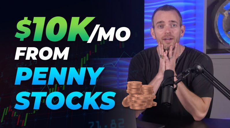 NO TRADING! Make Money With Penny Stocks + Affiliate Marketing (Copy+Paste)