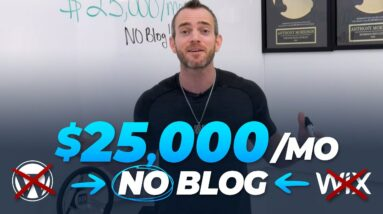 Make PASSIVE INCOME Online *Without Blogging* ($25,000 MONTH)
